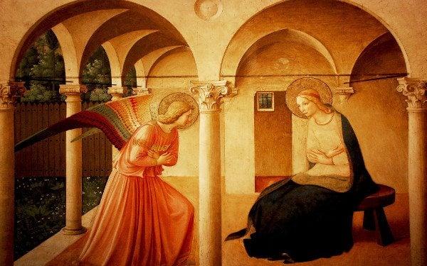 Joyful annunciation