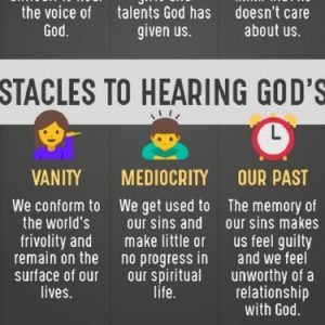 10 Obstacles to Hearing God's Voice and What You Need to Do to Start Listening
