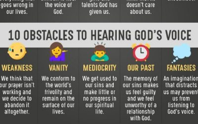 10 Things That Prevent Us From Hearing God's Voice