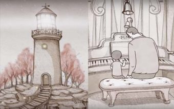 """The Lighthouse"" – A Beautiful Animated Short About Fatherhood"