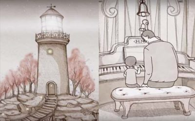 """The Lighthouse"" – A Beautiful Animated Short About Fatherhood"