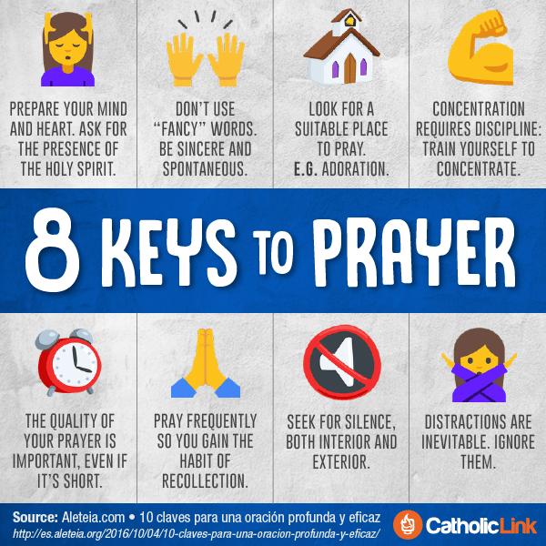 8 Keys to Prayer