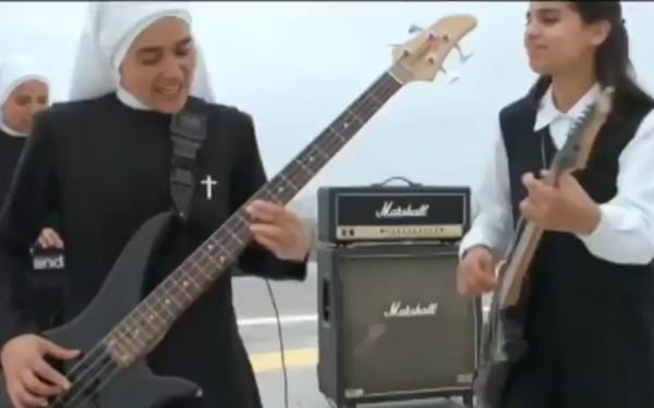 These Nuns Rock… Literally