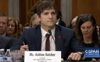 What Ashton Kutcher Said to Congress About the Horrors of Human Trafficking