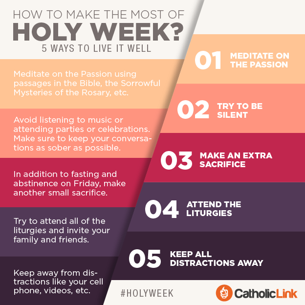 How to Live Holy Week
