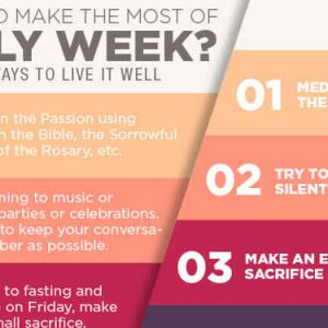 5 Things To Make The Most Of Holy Week