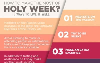 5 Things To Do To Make Holy Week The Most Important Week Of The Year