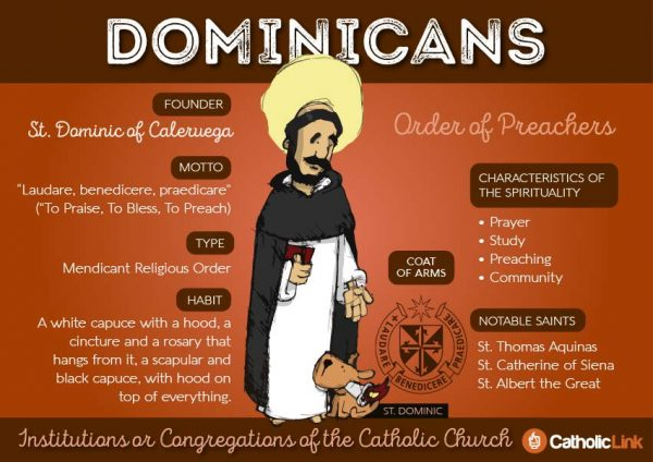 Dominicans  9 Orders Within The Catholic Church | Catholic-Link.org