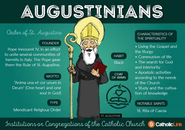 Augustinians 9 Orders Within The Catholic Church | Catholic-Link.org