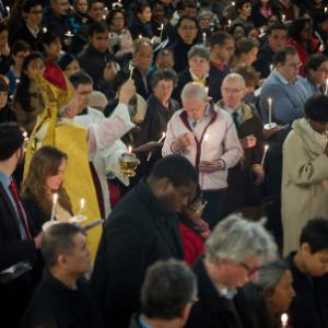 Evangelize in Holy week (c) Mazur/catholicnews.org.uk