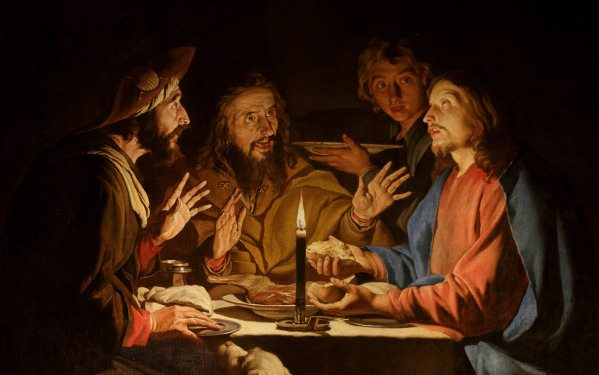 Road to Emmaus Dinner Do Not Forget: You Are Part of a Love Story Free Catholic Bible Story