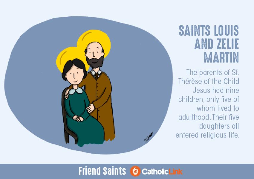 friendship saints st. louis and st. zelie martin
