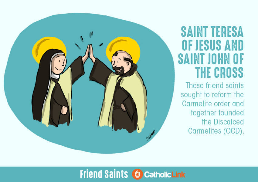 saint friendships