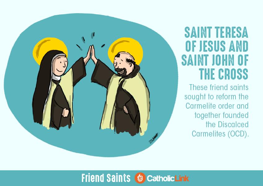 saint friendships