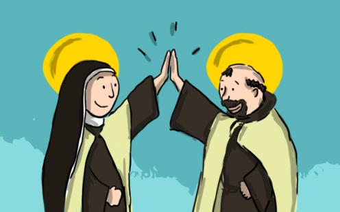 saints and friends