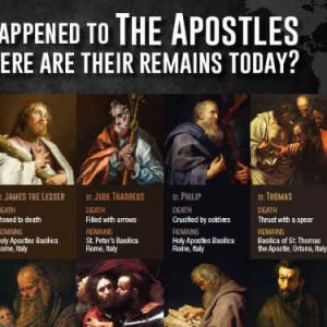 where are the apostles now