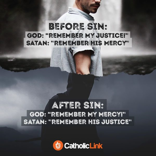What God And The Devil Tell You Before Sin And After Sin