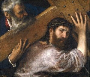 The 4th Sorrowful Mystery of the Most Holy Rosary - Jesus carries His Cross to Calvary