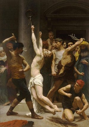 The 2nd Sorrowful Mystery of the Most Holy Rosary - Jesus is scourged at the pillar