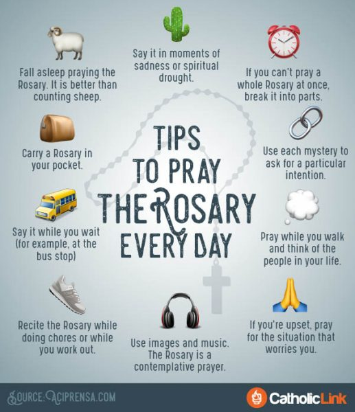 How To Pray The Rosary Every Day