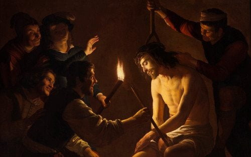The 3rd Sorrowful Mystery of the Most Holy Rosary - Jesus is crowned with thorns