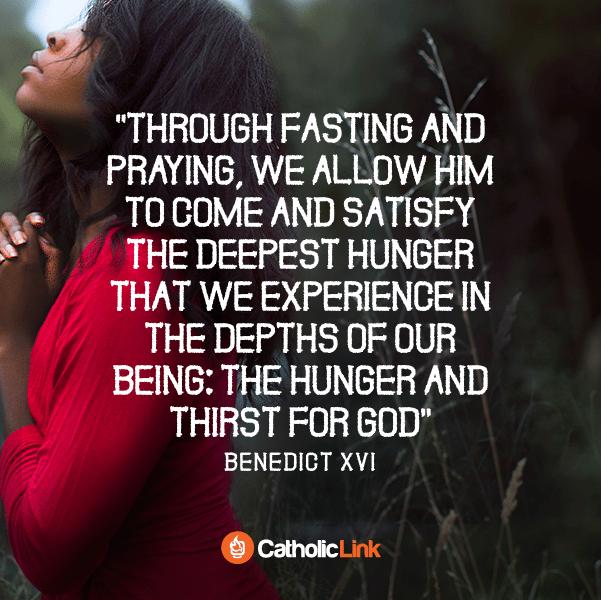Lent According To Pope Emeritus Benedict XVI Quote
