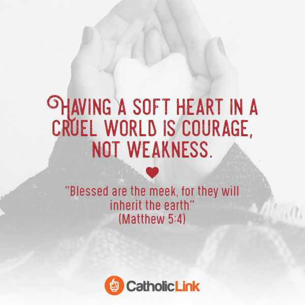 saint quote catholic cruel world