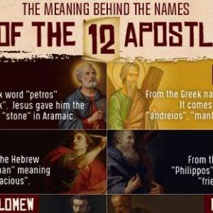 Names of the Apostles