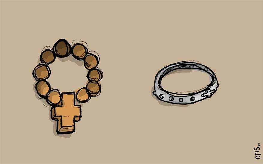 How To Pray the Rosary Visual Guide