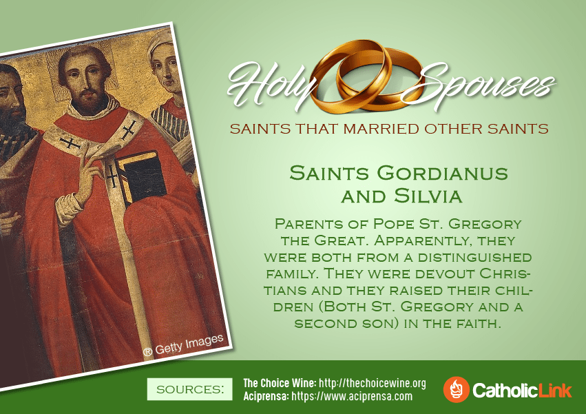 Saints Who were married