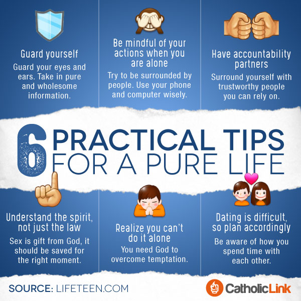 Infographic 6 Practical Tips For A Pure Life