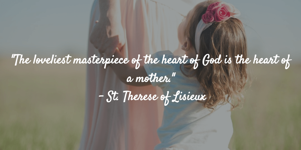 St. Therese quote Mother's Day