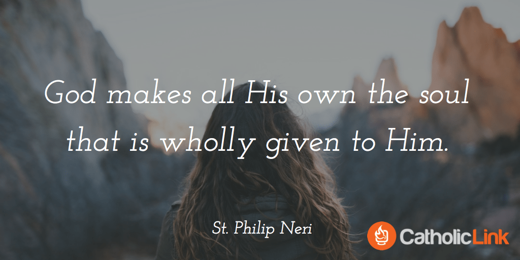 Feast Day of St. Philip Neri Quote