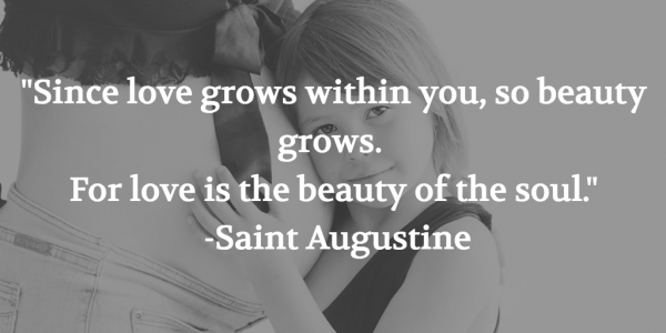 St. Augustine Mother's Day Quote