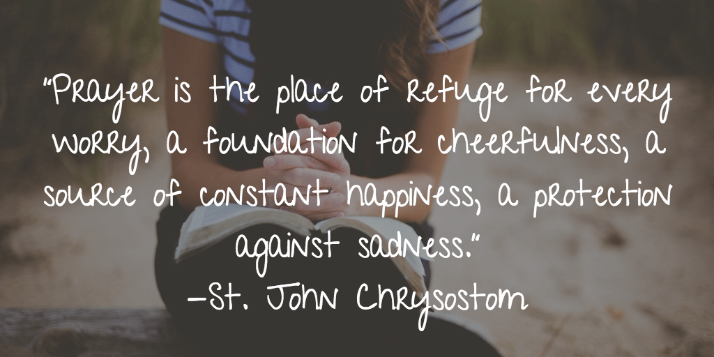 Mother's Day Quote St. John Chrysostom
