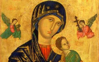 "Antidote to ""Your Precious"" Screen: The Glorious Icon of Our Mother of Perpetual Help"