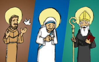 9 Infographics to Help Take the Confusion out of Identifying Religious Orders of the Church