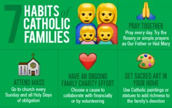 7 Great Habits For Catholic Families to Develop