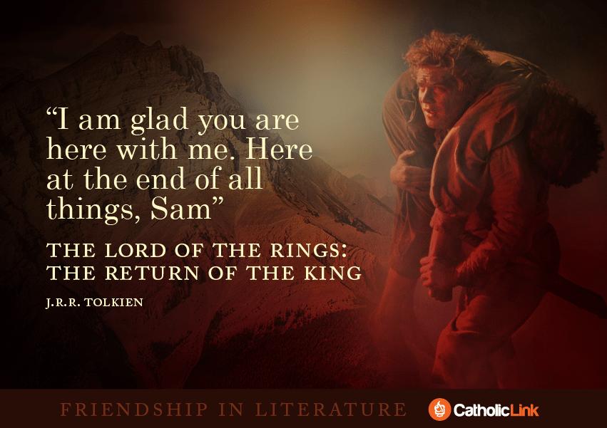 friendship Frodo Tolkien