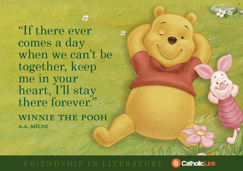 friendship Winnie the Pooh