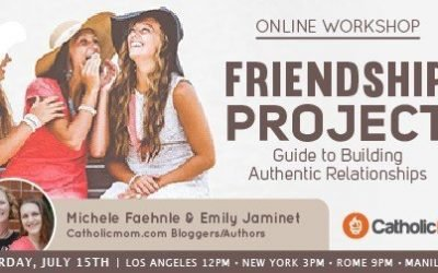 """Online Workshop: """"Friendship Project: Guide to Building Authentic Relationships"""""""