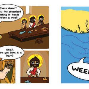 catholic comic book is here