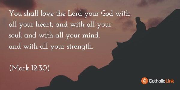 judgmental (Mark 12:30)