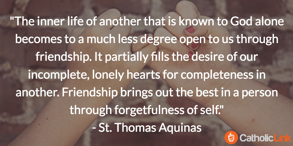 catholic friends saint quotes, Quotes on Friendship from the Saints