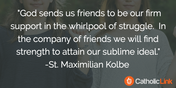 A Quote About Friendship Endearing 10 Quotes On Friendship From The Saints That You'll Want To Share