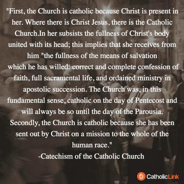 4 Marks of the Catholic Church