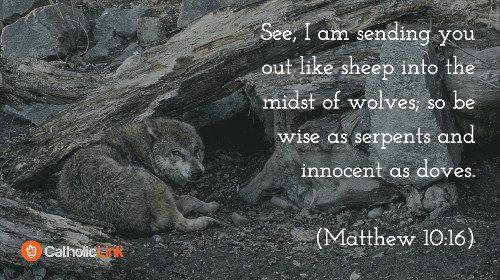 judgmental (Matthew 10:16)