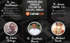 priests on social media