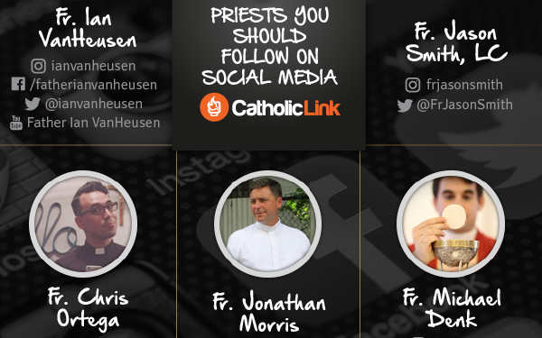priests on social media