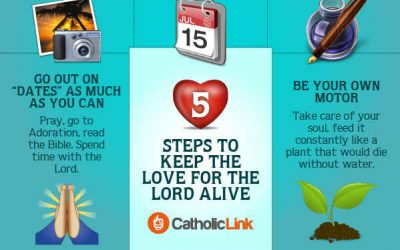 How To Keep Your Love For The Lord Alive – 5 Steps!